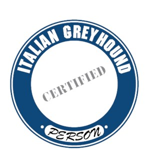 Italian Greyhound T-Shirt - Certified Person