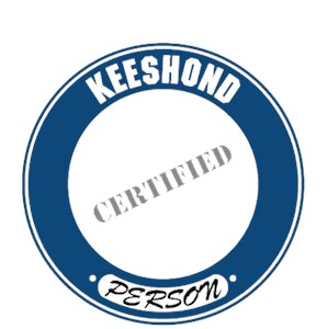 Keeshond T-Shirt - Certified Person