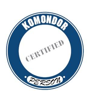 Komondor T-Shirt - Certified Person