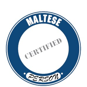 Maltese T-Shirt - Certified Person