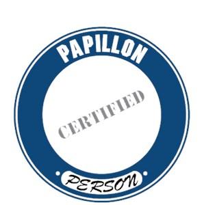Papillon T-Shirt - Certified Person