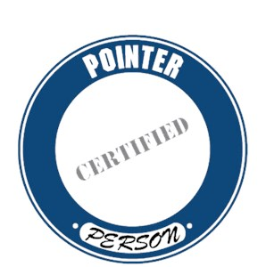 Pointer T-Shirt - Certified Person