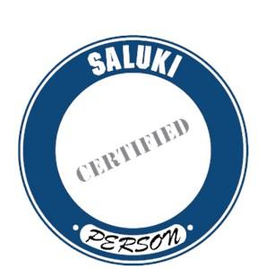 Saluki T-Shirt - Certified Person