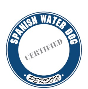 Spanish Water Dog T-Shirt - Certified Person