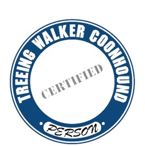 Treeing Walker Coonhound T-Shirt - Certified Person