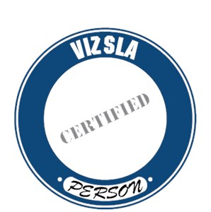 Vizsla T-Shirt - Certified Person