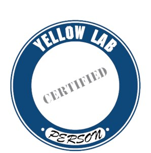 Yellow Lab T-Shirt - Certified Person