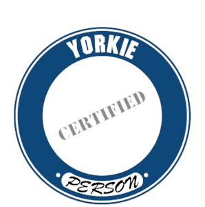 Yorkshire Terrier T-Shirt - Certified Person