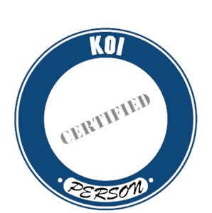 Koi T-Shirt - Certified Person