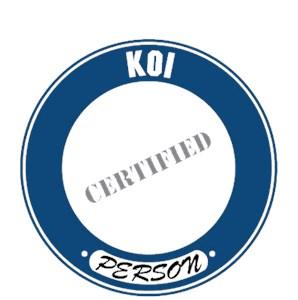 Koi T-Shirt - Certified Person