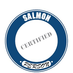 Salmon T-Shirt - Certified Person