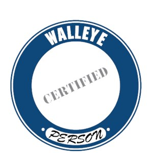 Walleye T-Shirt - Certified Person
