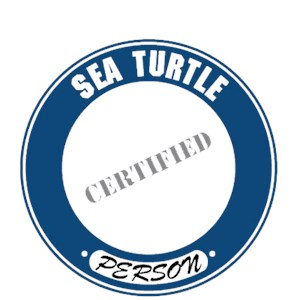 Sea Turtle T-Shirt - Certified Person