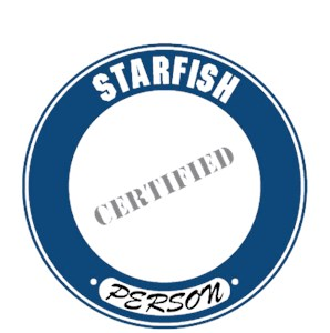 Starfish T-Shirt - Certified Person