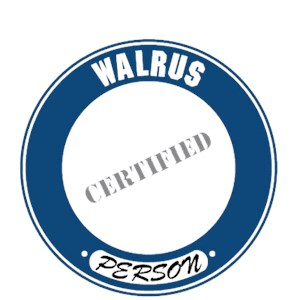 Walrus T-Shirt - Certified Person