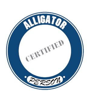 Alligator T-Shirt - Certified Person