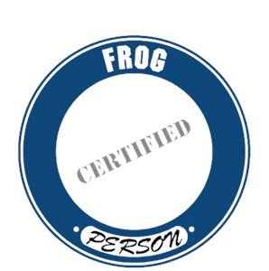Frog T-Shirt - Certified Person