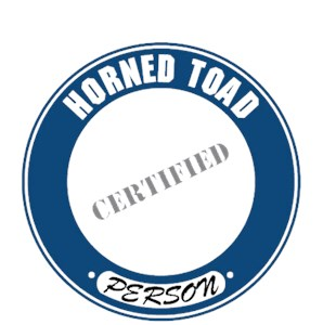Horned Toad T-Shirt - Certified Person