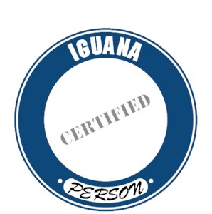 Iguana T-Shirt - Certified Person