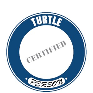 Turtle T-Shirt - Certified Person