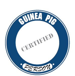 Guinea Pig T-Shirt - Certified Person