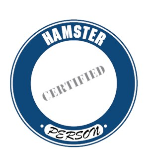 Hamster T-Shirt - Certified Person