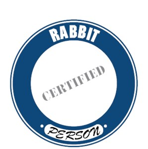 Rabbit T-Shirt - Certified Person