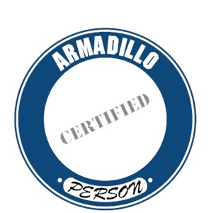 Armadillo T-Shirt - Certified Person