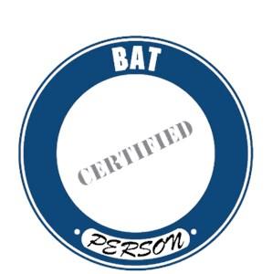 Bat T-Shirt - Certified Person