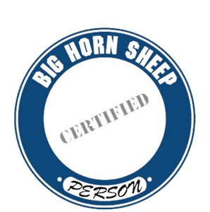 Big Horn Sheep T-Shirt - Certified Person