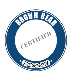 Brown Bear T-Shirt - Certified Person
