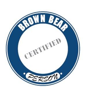 Brown Bear T-Shirt - Certified Person