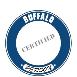 Buffalo T-Shirt - Certified Person