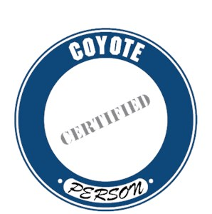 Coyote T-Shirt - Certified Person