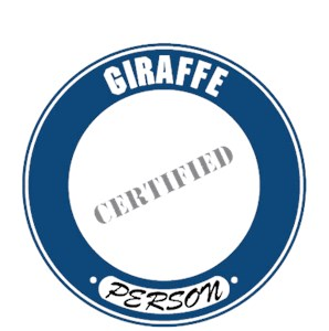 Giraffe T-Shirt - Certified Person