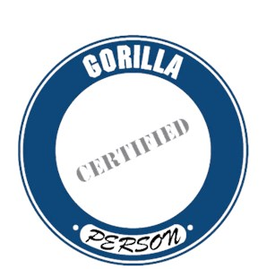 Gorilla T-Shirt - Certified Person