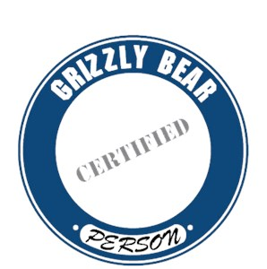 Grizzly Bear T-Shirt - Certified Person