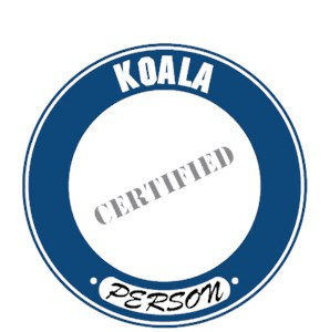 Koala T-Shirt - Certified Person
