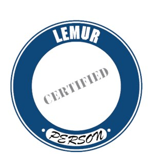 Lemur T-Shirt - Certified Person