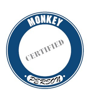 Monkey T-Shirt - Certified Person