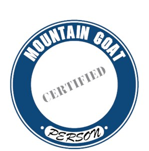 Mountain Goat T-Shirt - Certified Person