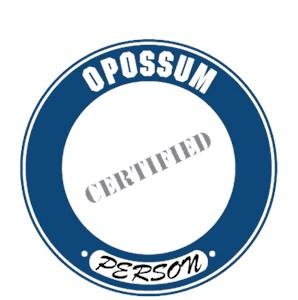 Opossum T-Shirt - Certified Person