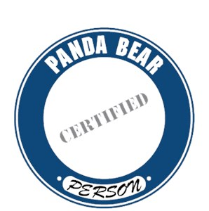 Panda Bear T-Shirt - Certified Person