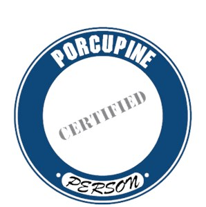 Porcupine T-Shirt - Certified Person