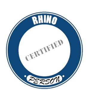 Rhinoceros T-Shirt - Certified Person