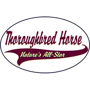 Thoroughbred Horse T-Shirt - Breed of Champions