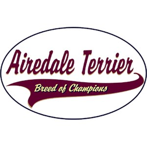 Airedale Terrier T-Shirt - Breed of Champions