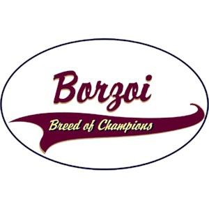 Borzoi T-Shirt - Breed of Champions