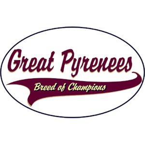 Great Pyrenees T-Shirt - Breed of Champions