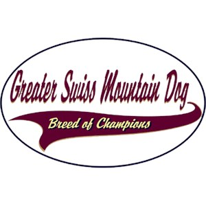Greater Swiss Mountain Dog T-Shirt - Breed of Champions